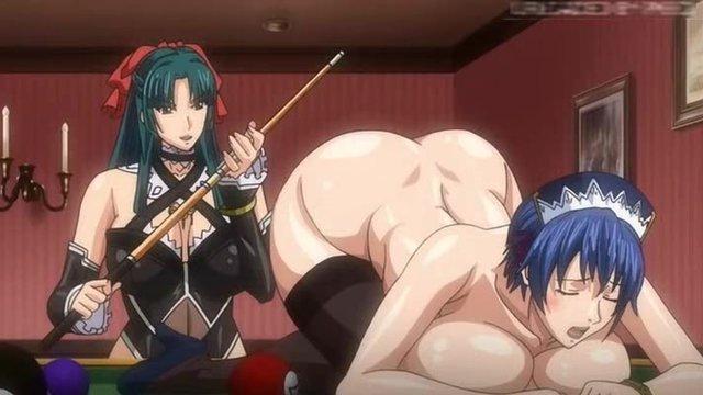 порно аниме хозяйка