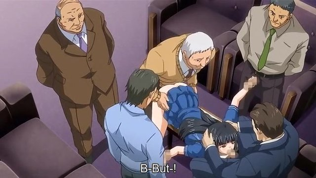 Man bondage hentai anime old