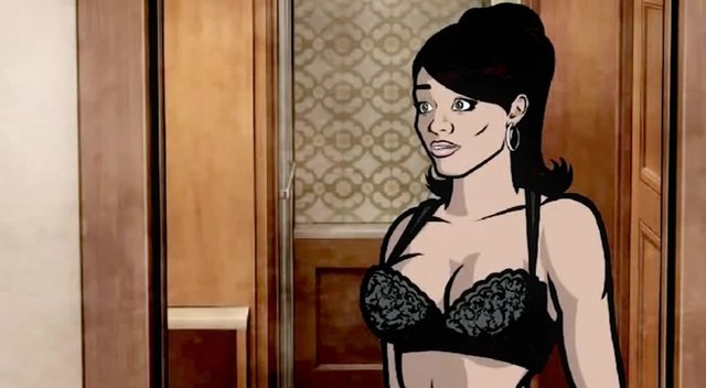 archer cartoon porn pictures big black muscle porn