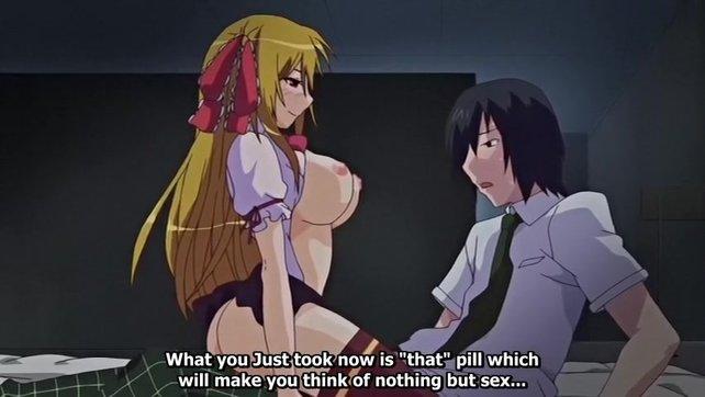 Hentai pill video