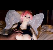 Fairy fuck doll used for pleasure