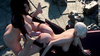 Blonde dicked outdoors by hung futa girl