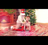 Christmas season sex compilation featuring Santa