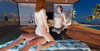 Lucky lad loves on a pair of lewd beauties